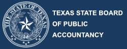 Texas State Board of Accountancy logo